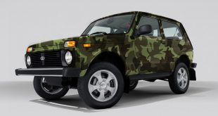 Lada 4×4 Hunter на ММАС-2016