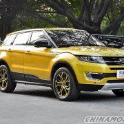 Jiangling Motor — скандальный клон Range Rover Evoque