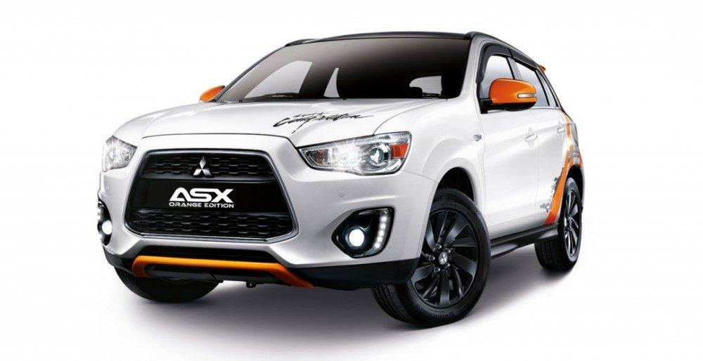 Mitsubishi ASX Orange Edition - лимитированная версия кроссовера