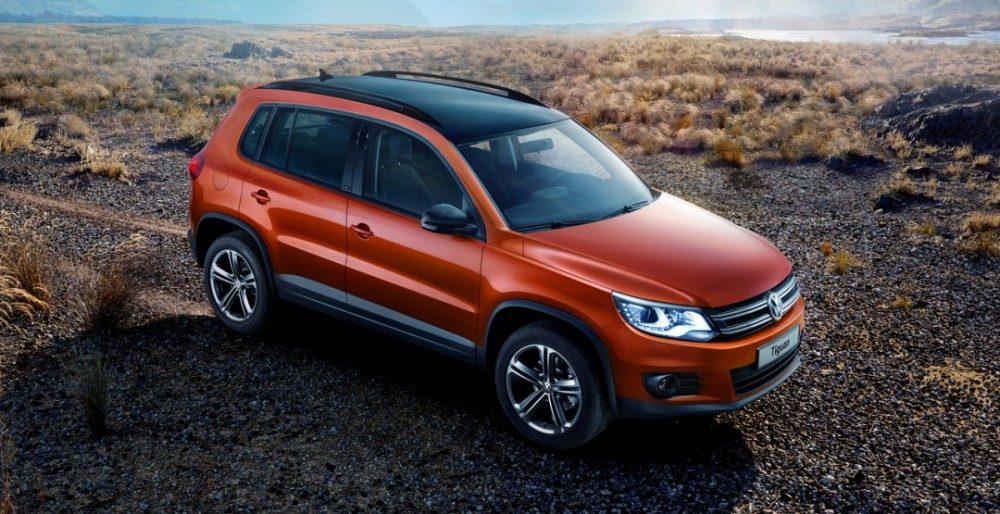 Volkswagen Tiguan Allstar цена в России
