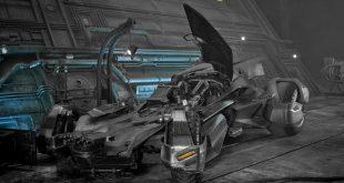 """Новый Бэтмобиль для """"Лиги Справедливости"""""""
