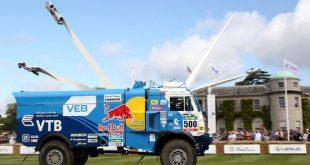 «КАМАЗ» на Фестивале скорости в Гудвуде 2016