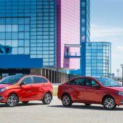Известна стоимость Lada Xray и Лада Веста в комплектации «50 Anniversary»