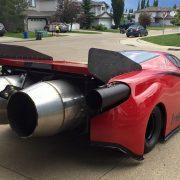 Ferrari Insanity или «Безумие с авиационными двигателями»