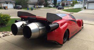 """Ferrari Insanity или """"Безумие с авиационными двигателями"""""""