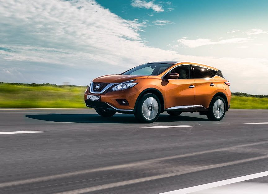 Nissan Murano 2016: первый тест драйв