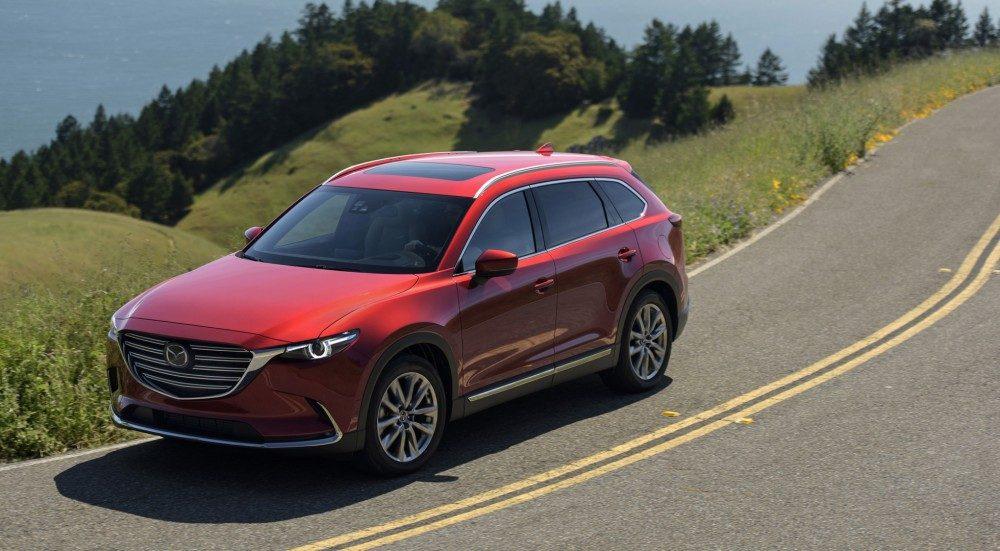 """Mazda CX-9 прошла краш-тест ANCAP """"на отлично"""""""
