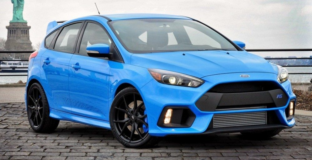 Ford Focus RS 2016 цена в России