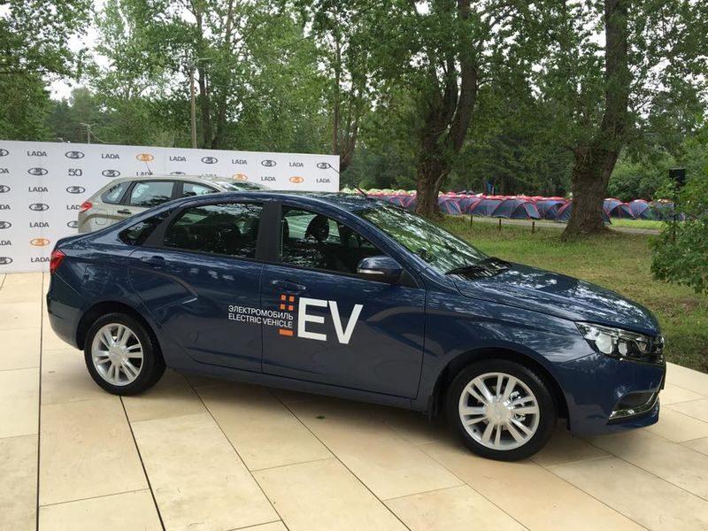 Lada Vesta EV представена официально