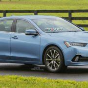 Acura TLX 2016 модельного года показалась на первых фото