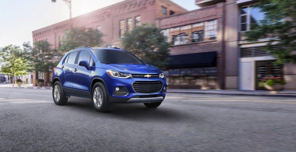 Озвучена цена и комплектации на Chevrolet Trax 2017 модельного года