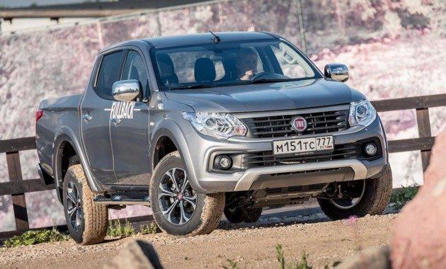 Новое поколение пикапа Fiat Fullback в России