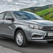 Старт продаж Lada Vesta EV наметили на 2017 год