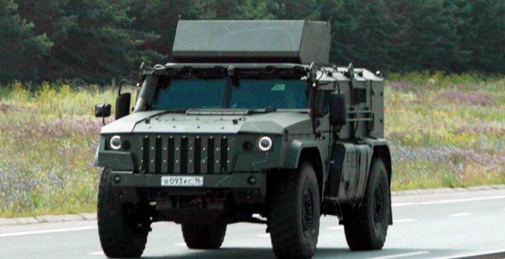 КамАЗ-К4386 «Тайфун-ВДВ» - новый десантный вседорожник