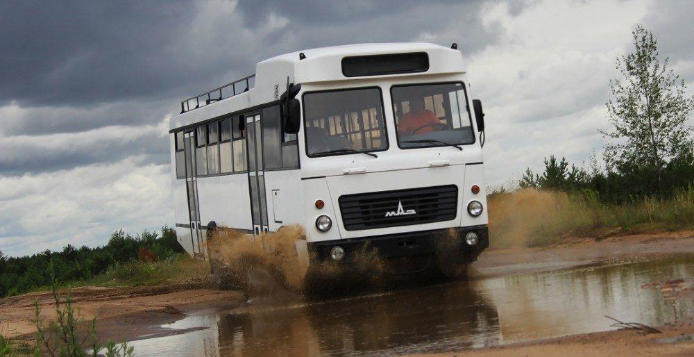 МАЗ-131.020 новый спецавтобус для Африки