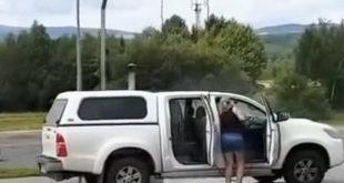 Как не надо мыть автомобиль. Видео дня