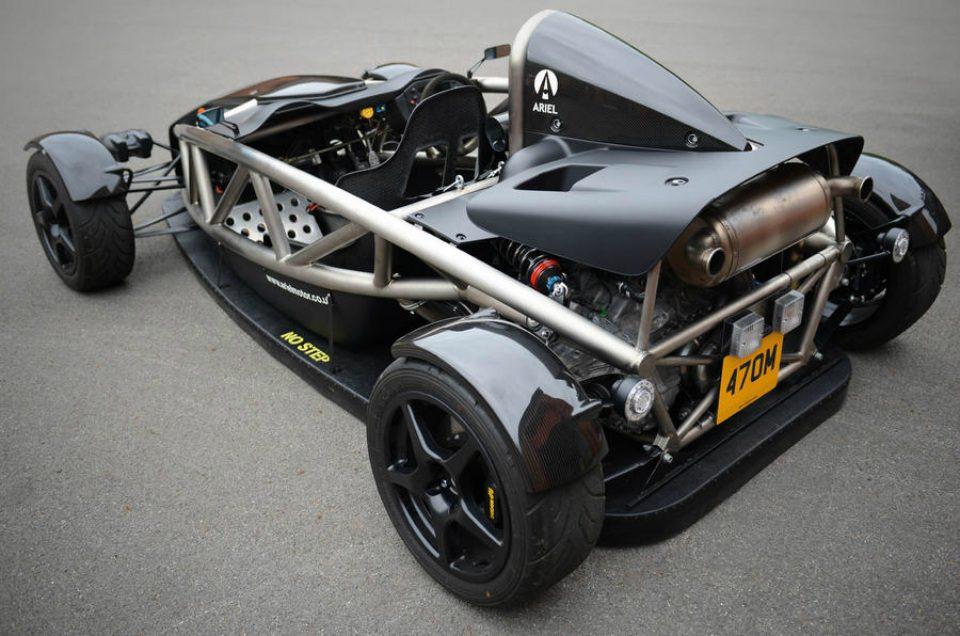"""Ariel Aero-P Atom - первый в мире """"автомобиль-пылесос"""""""