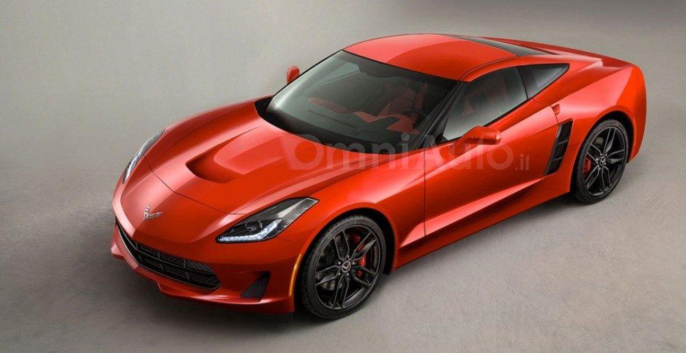 Первый рендер Chevrolet Corvette C8 2019 («Emperor»)