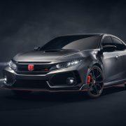 Honda показала в Париже предсерийный Civic Type R 2018