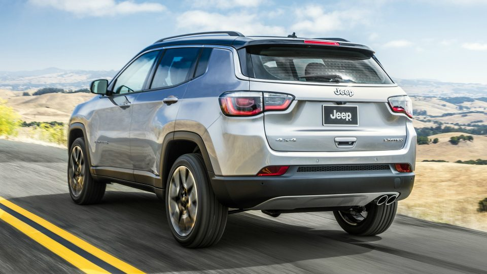 Jeep Compass 2017 дебютировал без интриги