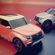 Рендеры нового поколения Lada 4×4 (Lada 4×4 NG)
