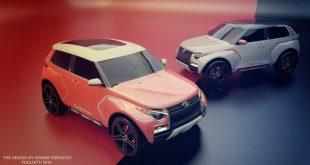 Рендеры нового поколения Lada 4x4 (Lada 4x4 NG)