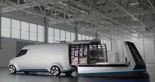 Mercedes-Benz Vision Van - коммерческий фургон будущего
