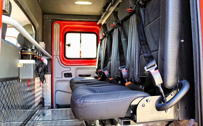 Пожарный автомобиль АЦ‑1,0–40/4 на шасси ГАЗона Next