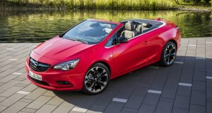 Opel Cascada Supreme на Парижском автосалоне 2016