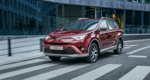 Toyota представила для России новую комплектацию RAV4 Exclusive