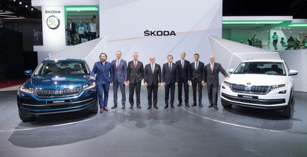 Skoda Kodiaq 2017 представлен в очередной раз