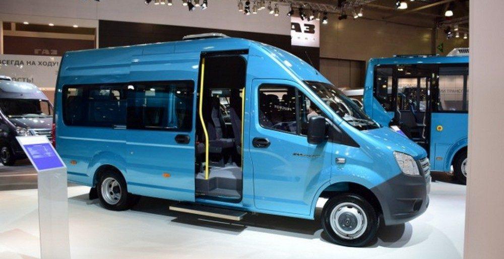 Купить микроавтобус ГАЗель Next можно будет в декабре 2016