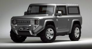 Ford Bronco вернется на рынок в 2017 году