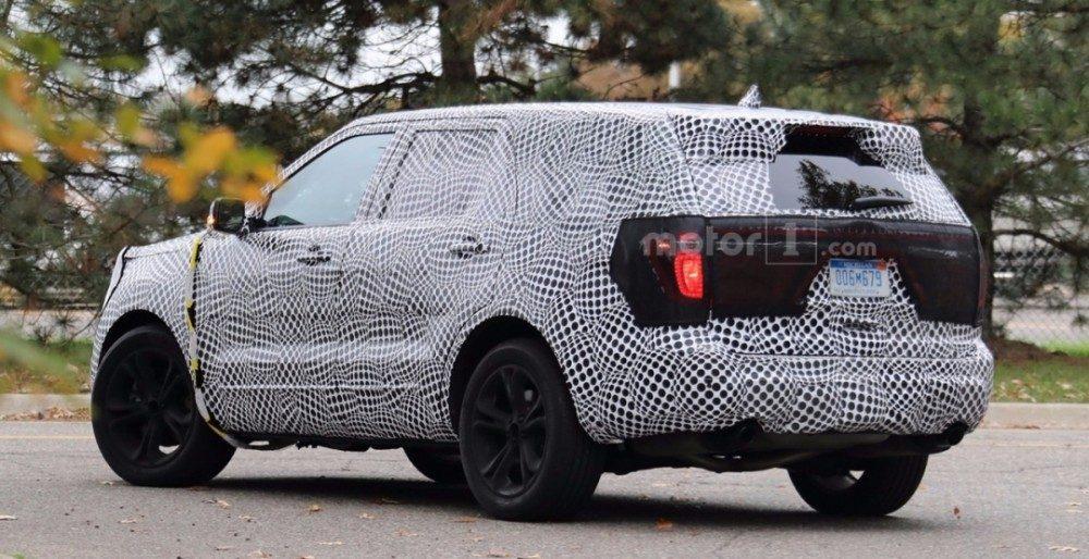 Ford Explorer 2019: первые фото и характеристики