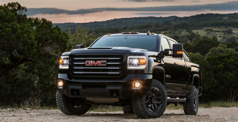 Суперчёрный или GMC Sierra HD All Terrain X 2017
