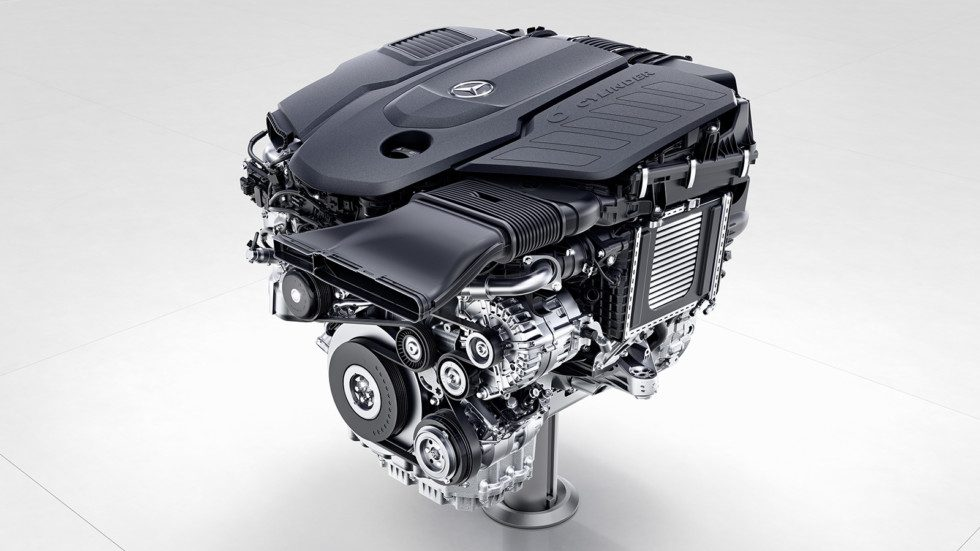 Новые моторы Mercedes-Benz 2017
