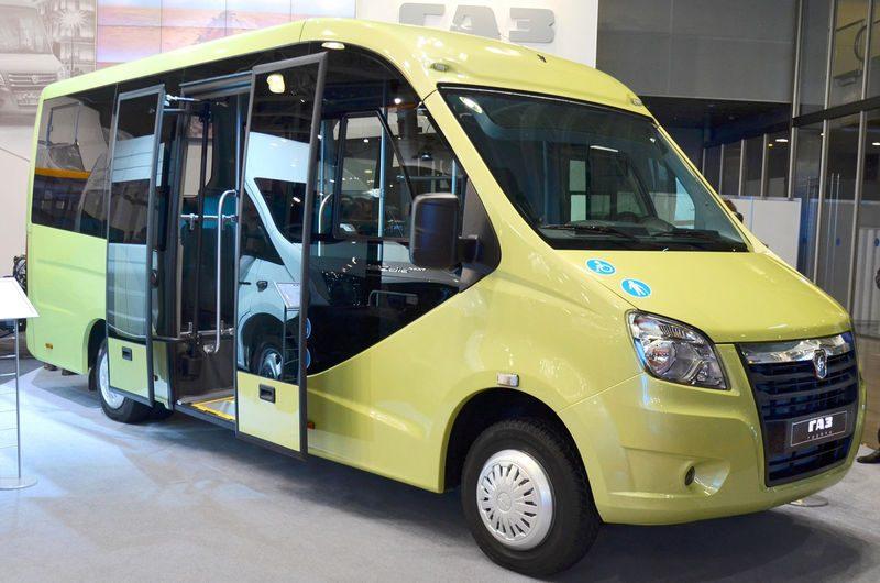 ГАЗ показал два новых микроавтобуса на базе ГАЗель Next