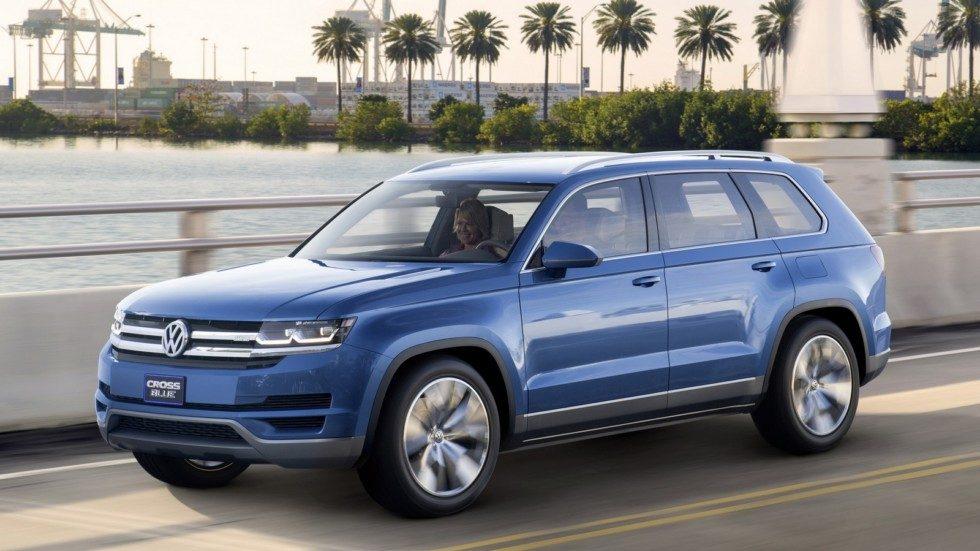 Не Teramont, а Volkswagen Atlas: известна дата дебюта