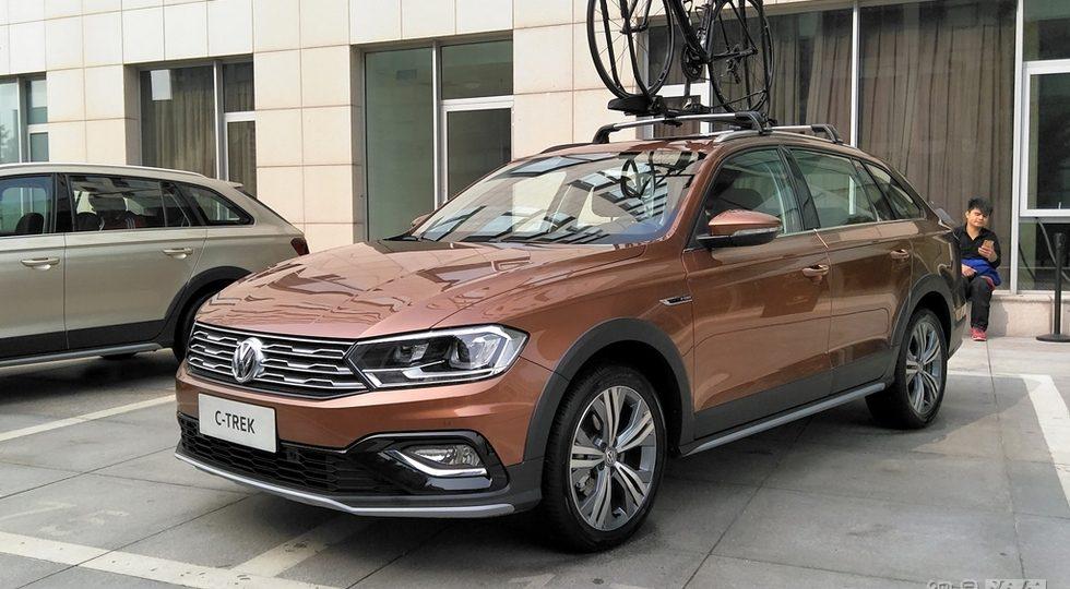 Volkswagen представил внедорожный универсал Bora C-Trek