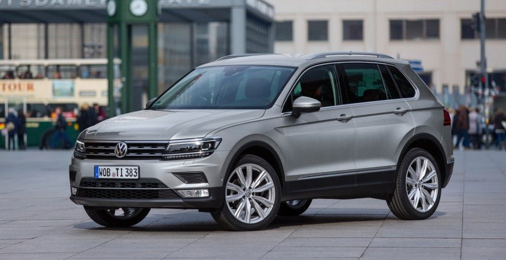 Новый Volkswagen Tiguan доберется до России в первом квартале 2017