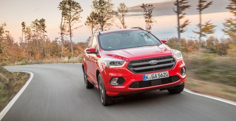 Купить Форд Куга 2017 в России можно уже в декабре