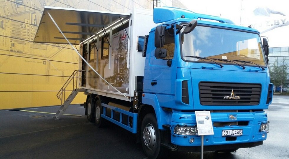МАЗ-631223 или офис на колесах