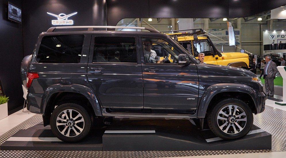 УАЗ Патриот 2017 модельного года: видео-обзор