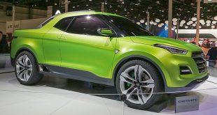 Hyundai Creta STC (Sport Truck Concept): фото и характеристики