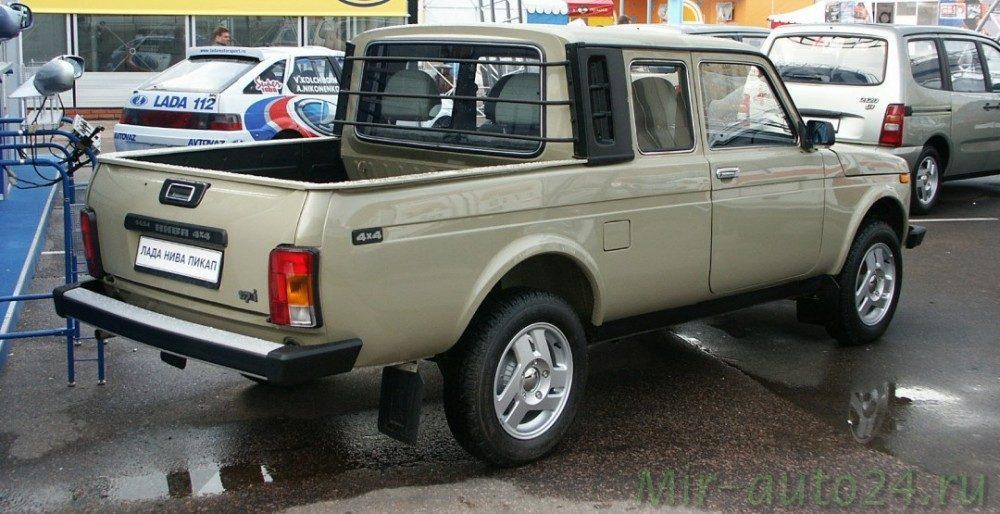 Lada 4x4 pickup (ВАЗ-2329) вновь встала на конвейер