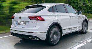 Volkswagen Tiguan Coupe/Tiguan СС: первые подробности