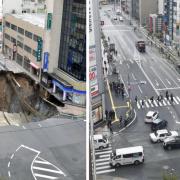 Ремонт дорог по-японски: 48 часов и от провала ни следа
