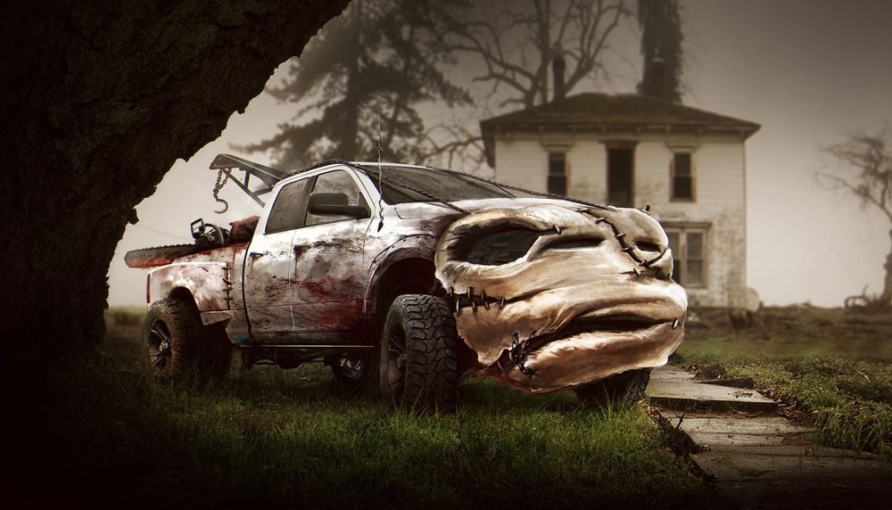 Автомобили-ужастики. 10 изображений авто-маньяков