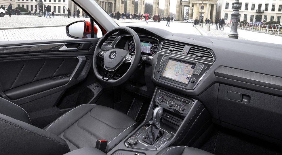 Фольксваген Тигуан 2017: новый кузов, комплектации и цены, фото