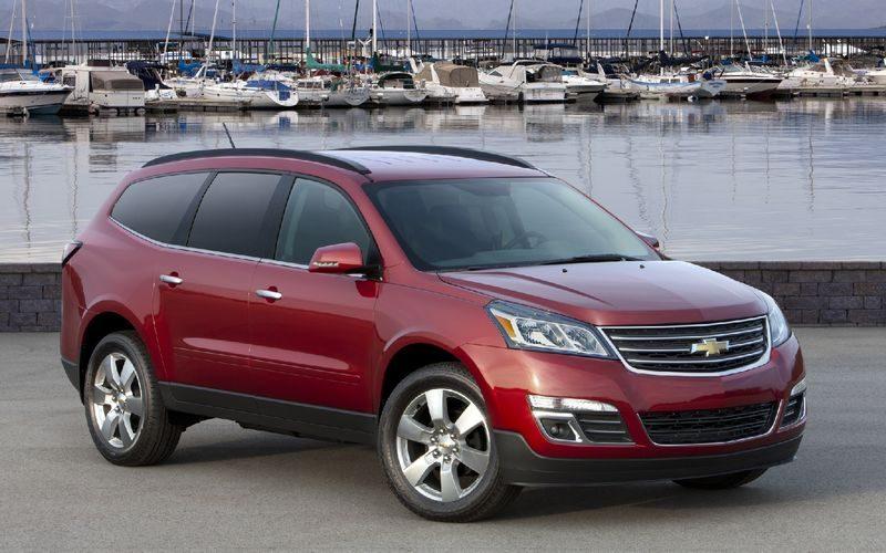 Купить обновленный Chevrolet Traverse можно будет и в России